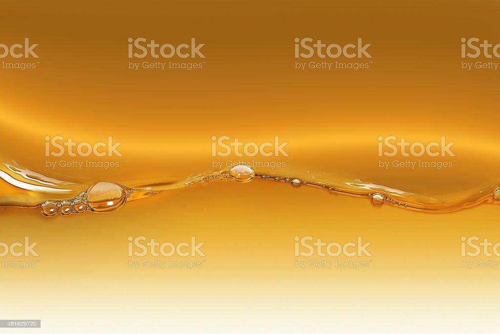 Oil Wave vector art illustration