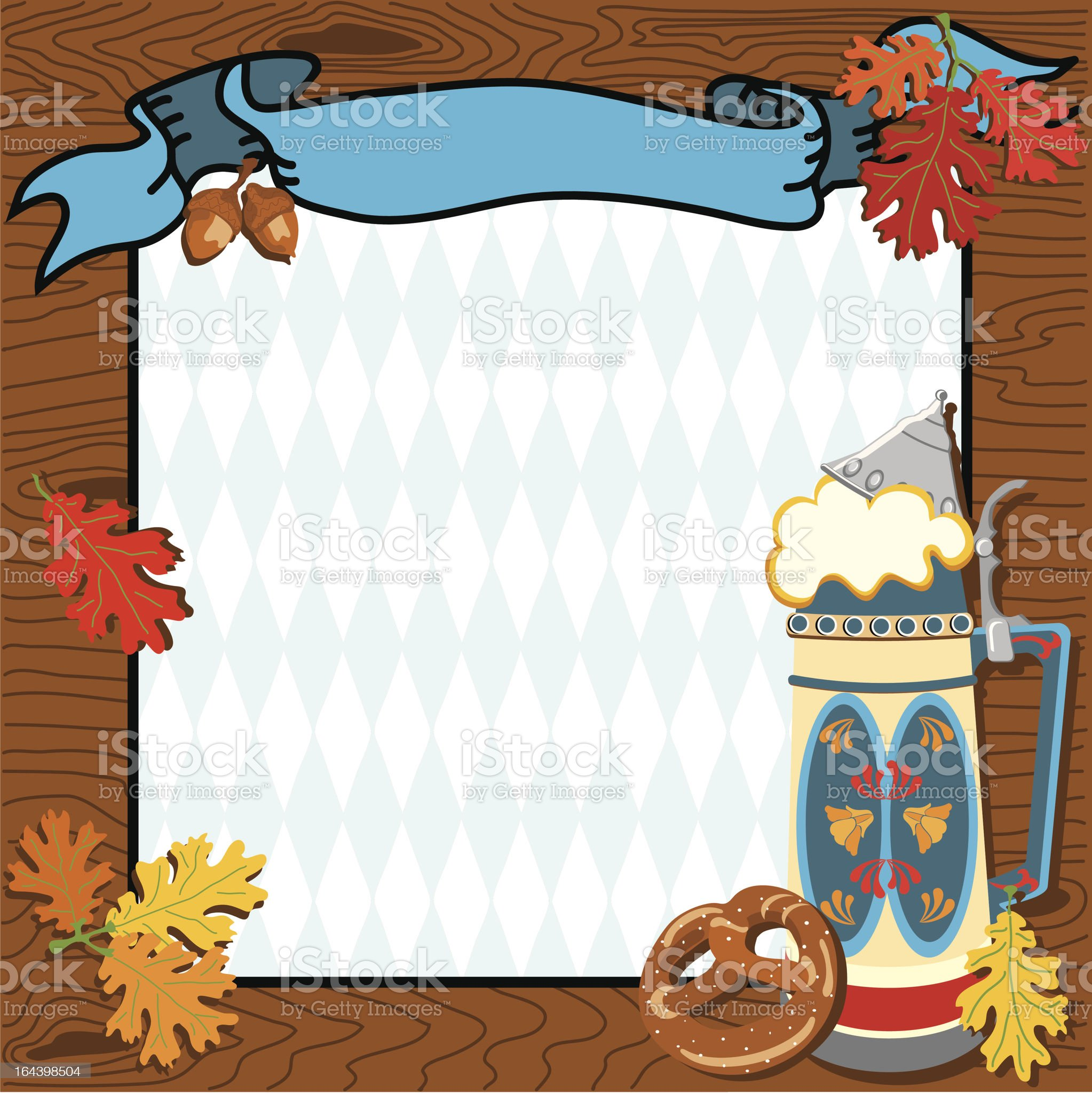 Oktoberfest Frame royalty-free stock vector art