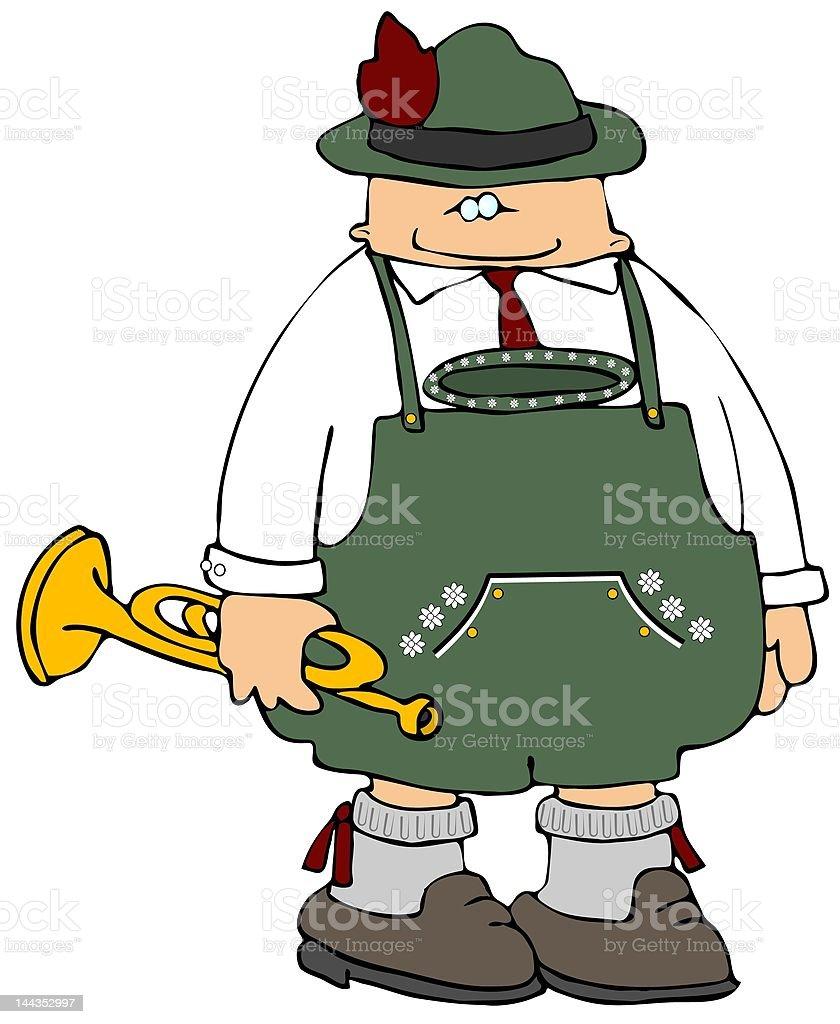 Oktoberfest Man royalty-free stock vector art