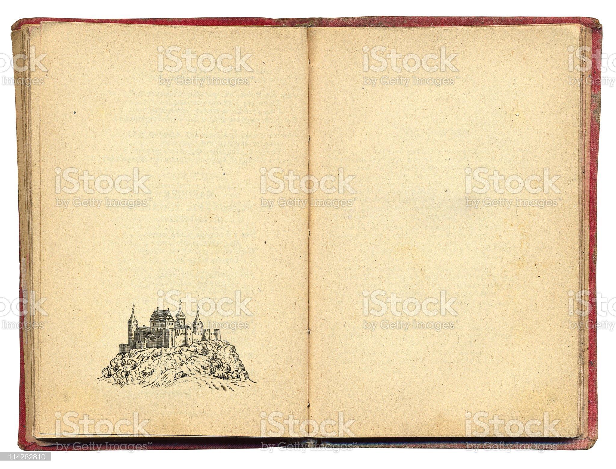 Old castle illustration royalty-free stock vector art