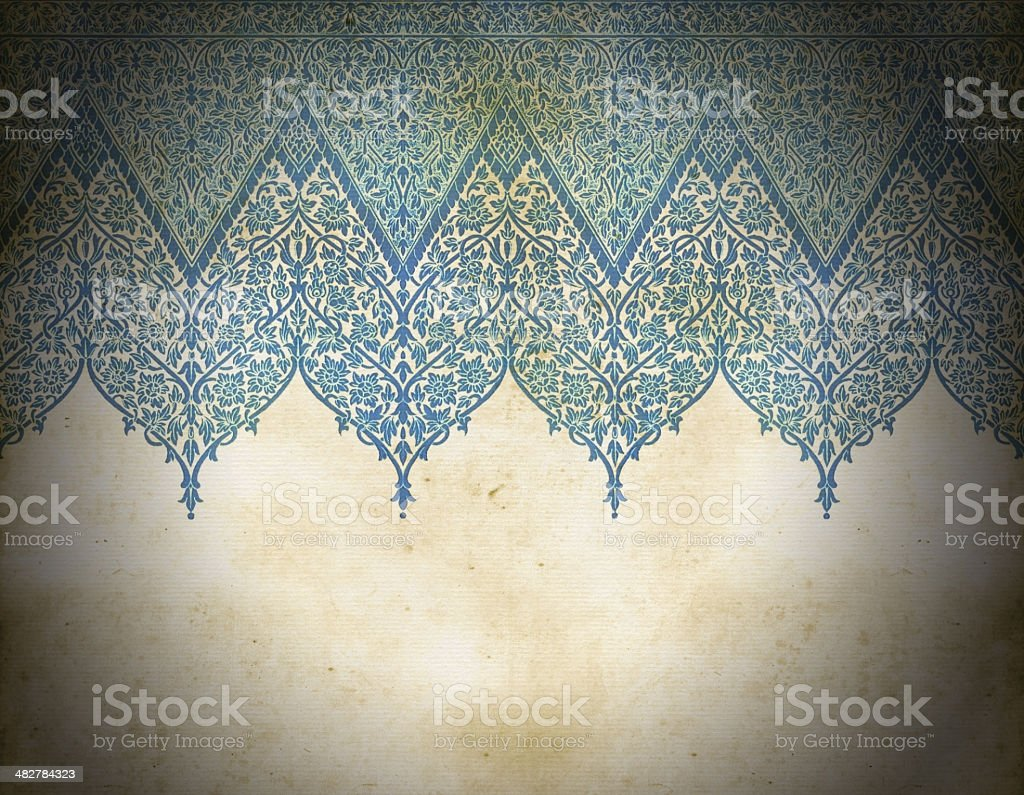 Old Dirty Indian Background royalty-free stock vector art