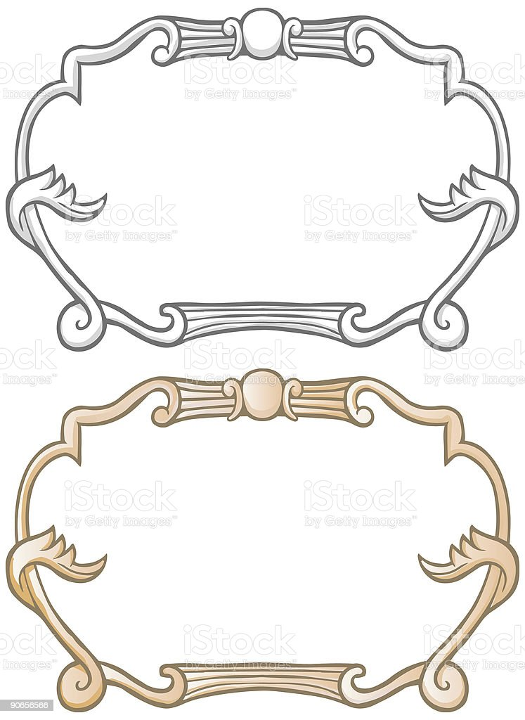 Old Fashion Border royalty-free stock vector art