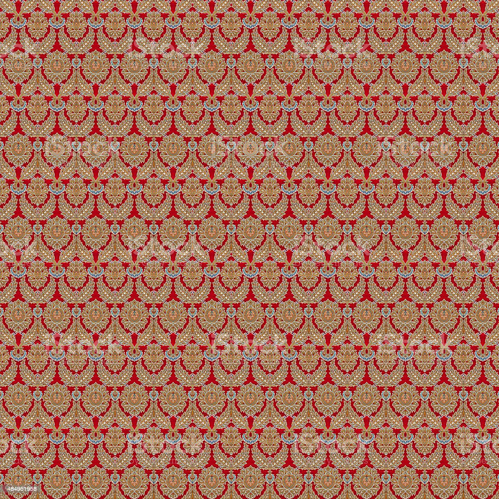 old fashion textile vector art illustration