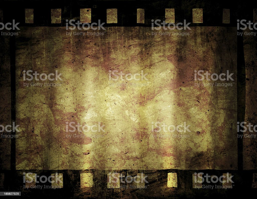 old film strip royalty-free stock vector art