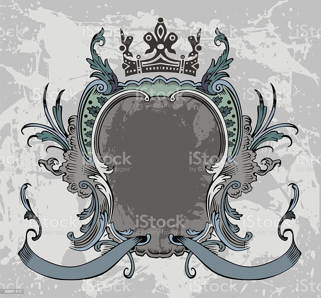 Old frame royalty-free stock vector art