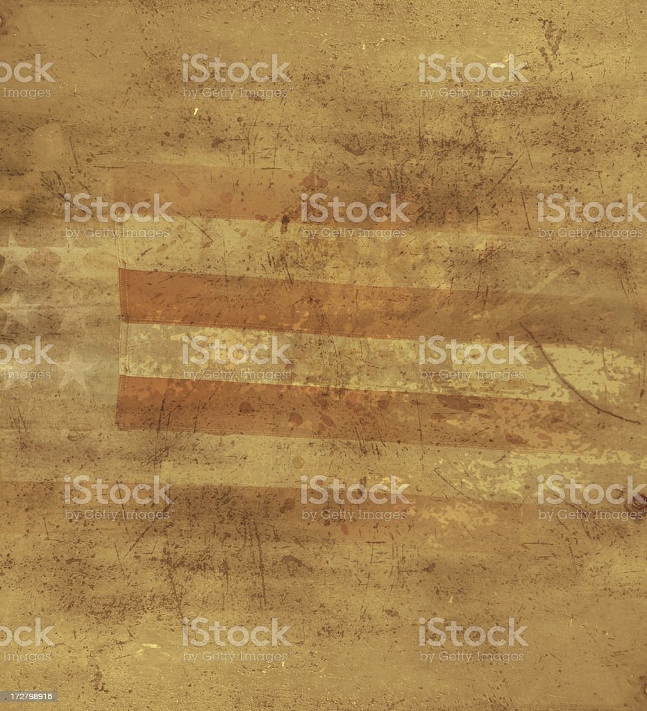 Old glory background vector art illustration