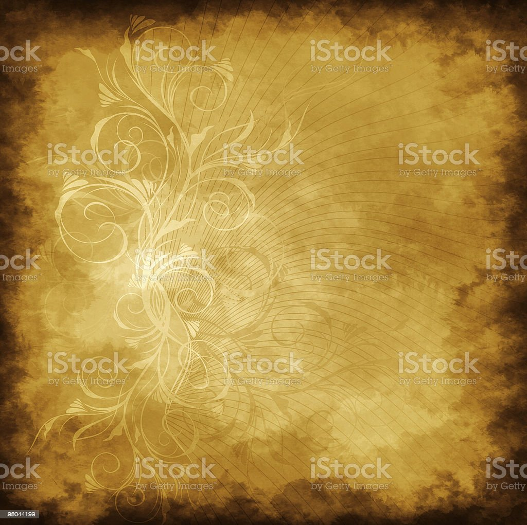Old grunge background royalty-free stock vector art