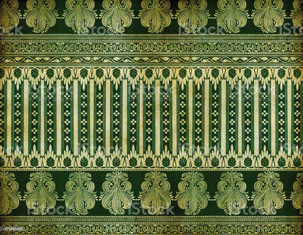 Old Indian Wallpaper royalty-free stock vector art