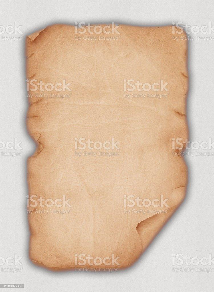 Old Leather Paper vector art illustration