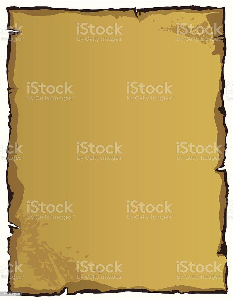 Old Paper (vector + XXL jpg in ZIP folder) royalty-free stock vector art