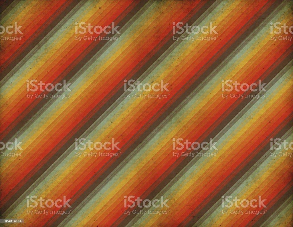 Old Striped Retro Wallpaper vector art illustration