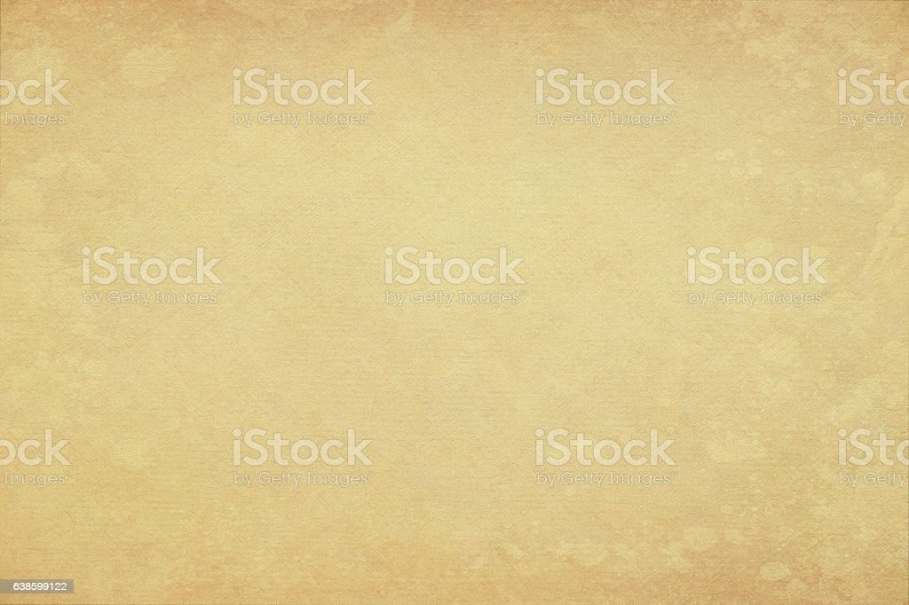 Old yellow paper background vector art illustration