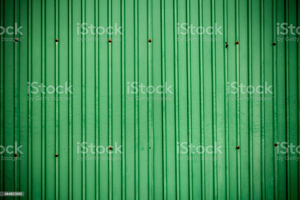Old zinc wall background royalty-free stock vector art