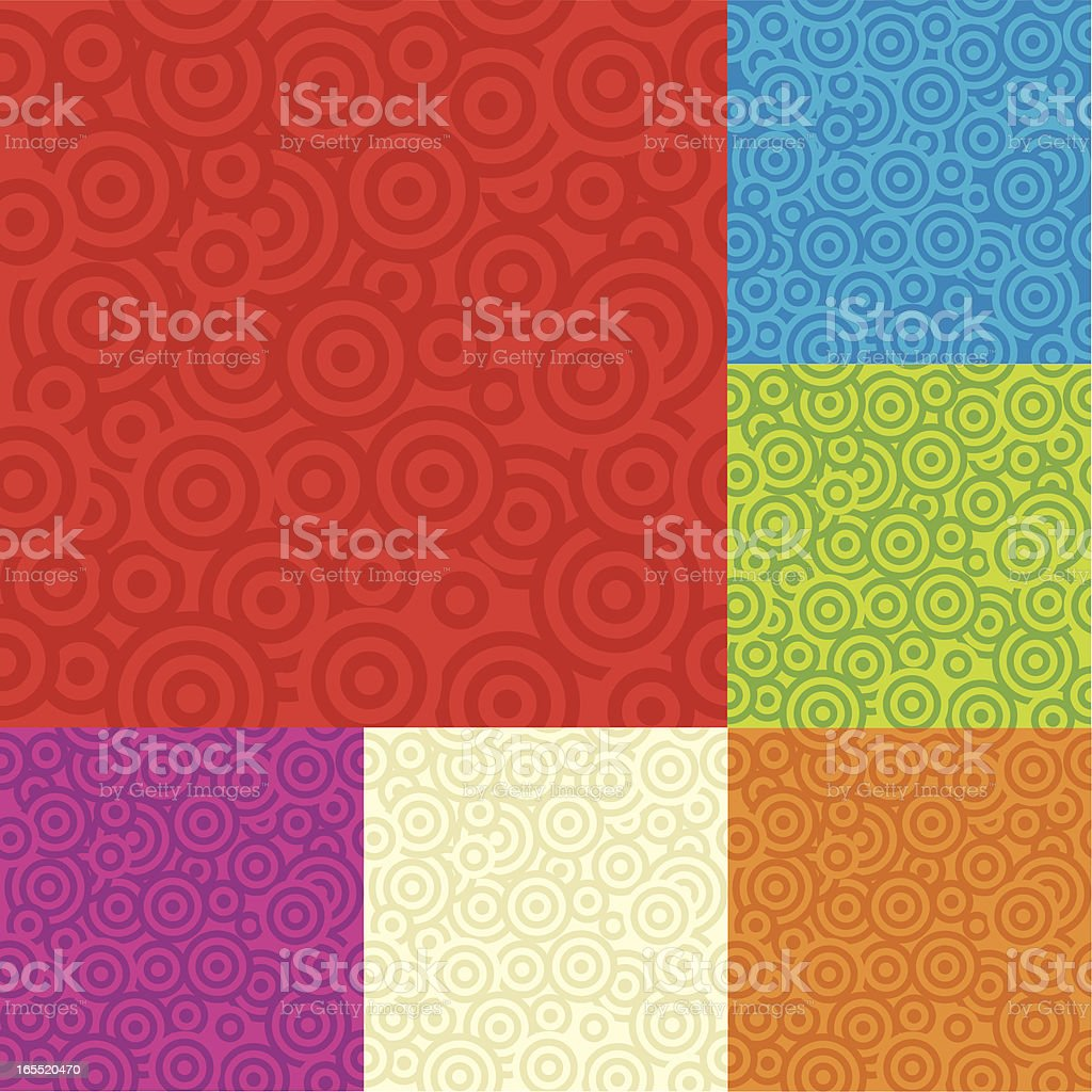 One credit target background royalty-free stock vector art