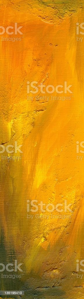 Orange Abstract Style royalty-free stock vector art