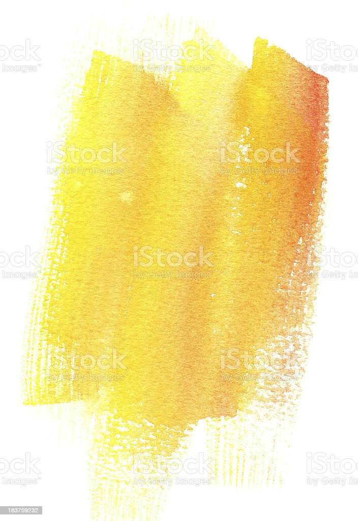 Orange and Yellow Swiped Background royalty-free stock vector art