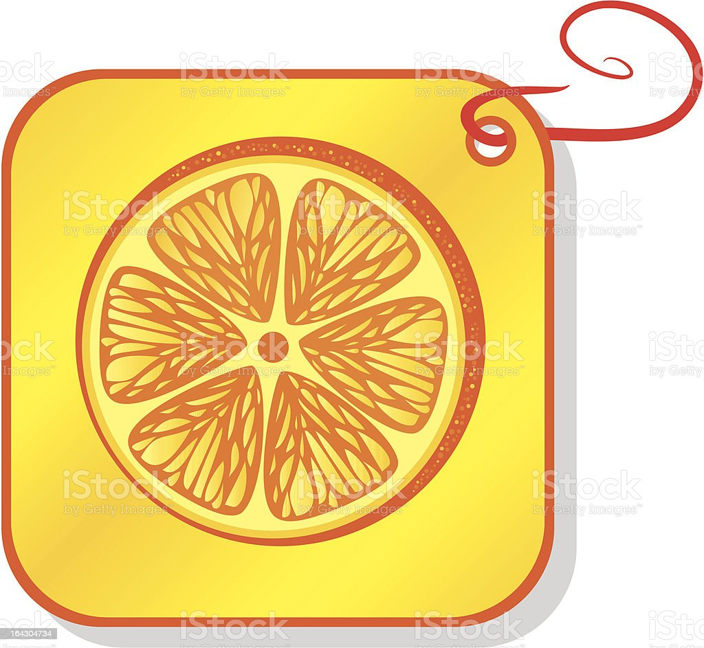 orange, food, fruit, royalty-free stock vector art