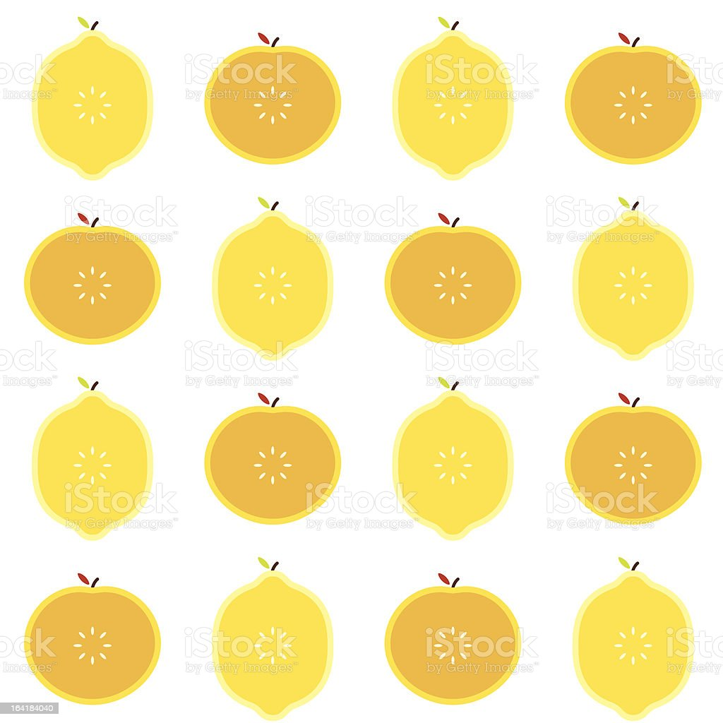 Oranges and Lemons royalty-free stock vector art