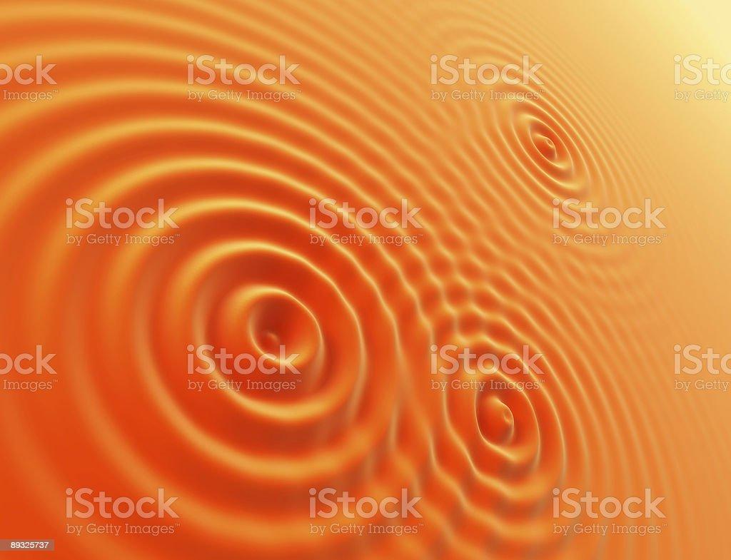 oranges waves royalty-free stock vector art