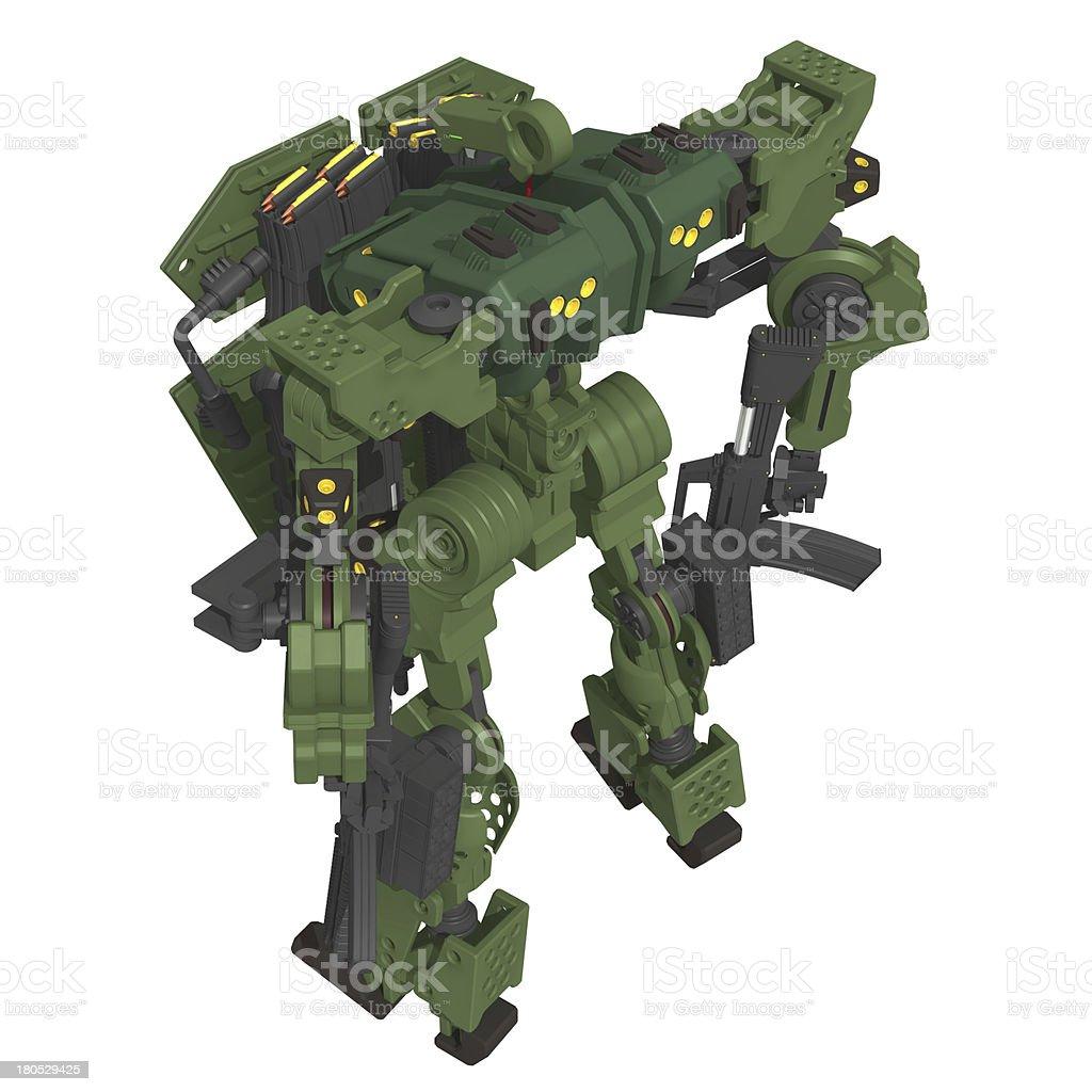 Original design robot vector art illustration