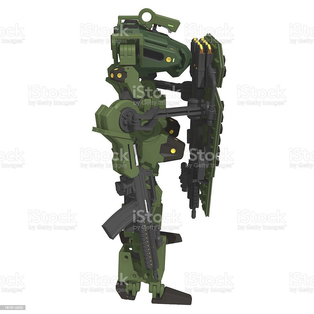Original design robot royalty-free stock vector art