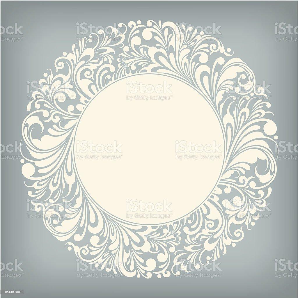 Ornament Circle Label royalty-free stock vector art