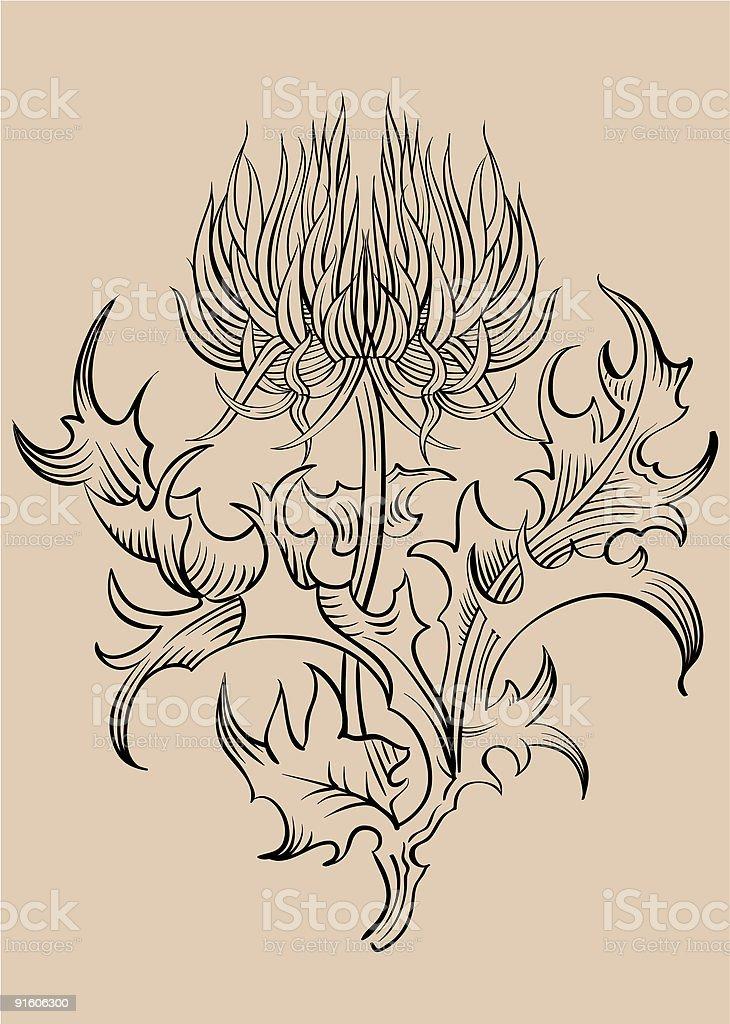 Ornament vector royalty-free stock vector art