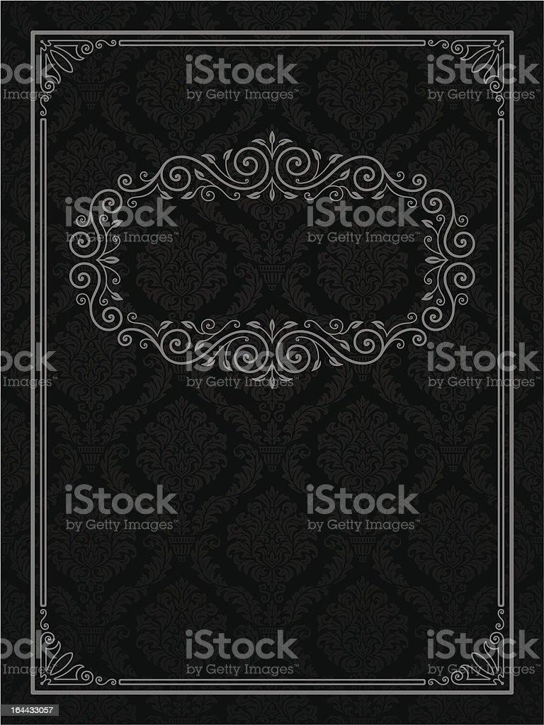 Ornamental frame royalty-free stock vector art