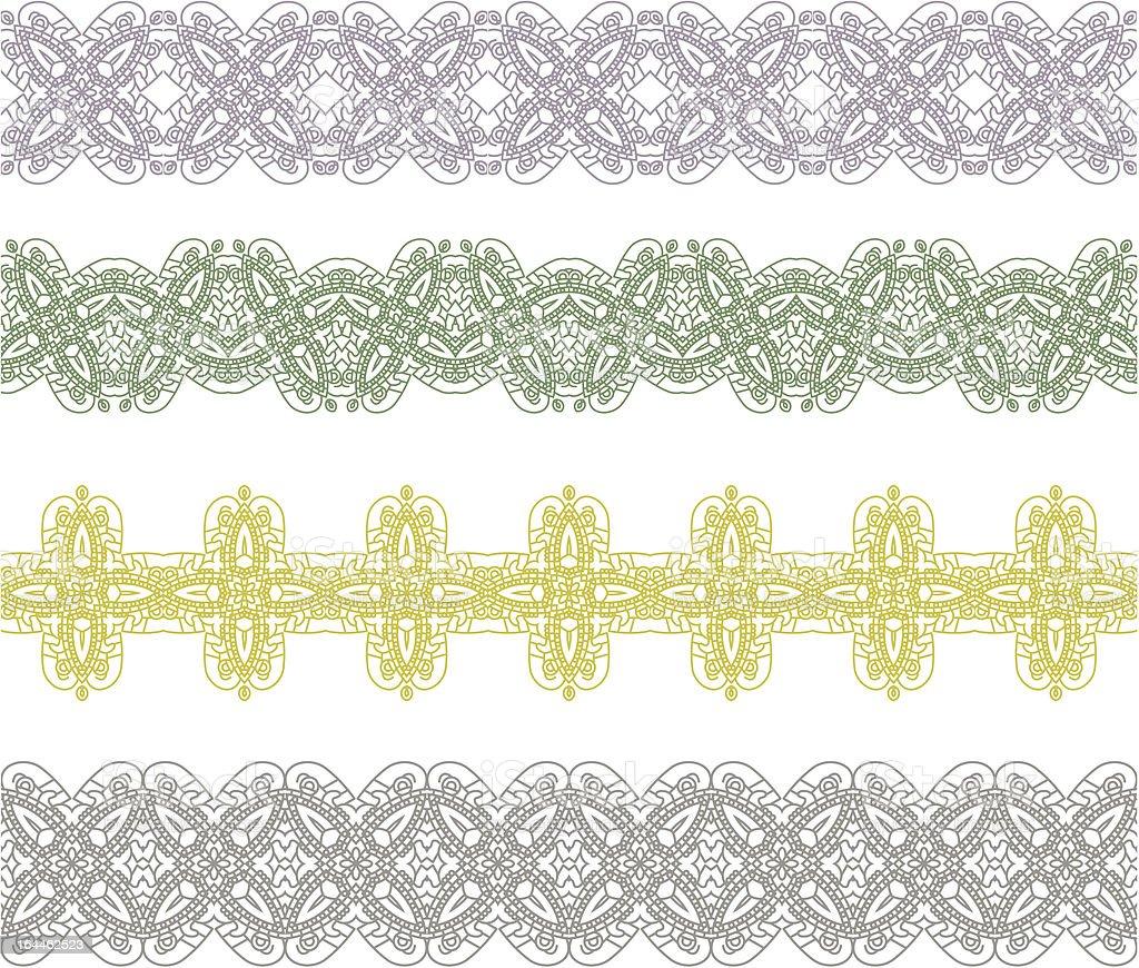 Ornamental seamless pattern royalty-free stock vector art