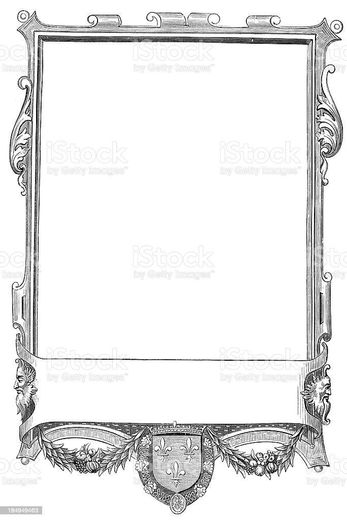 Ornate border royalty-free stock vector art