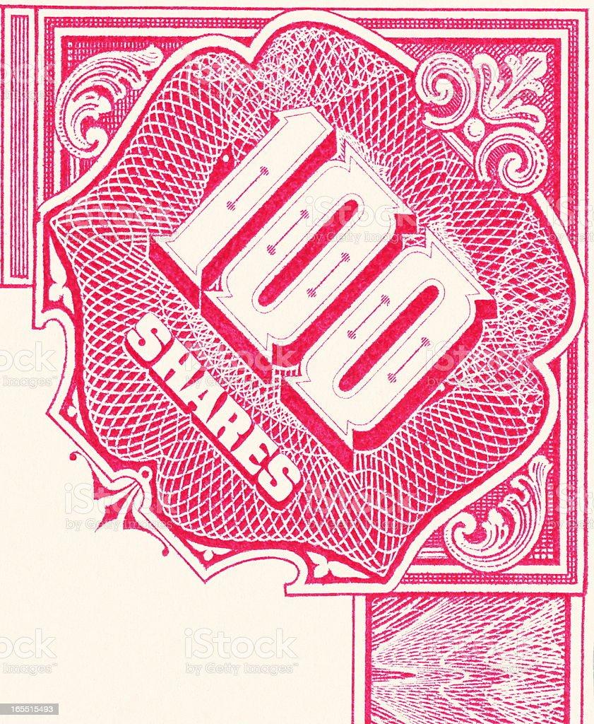 Ornate Corner Engraving vector art illustration