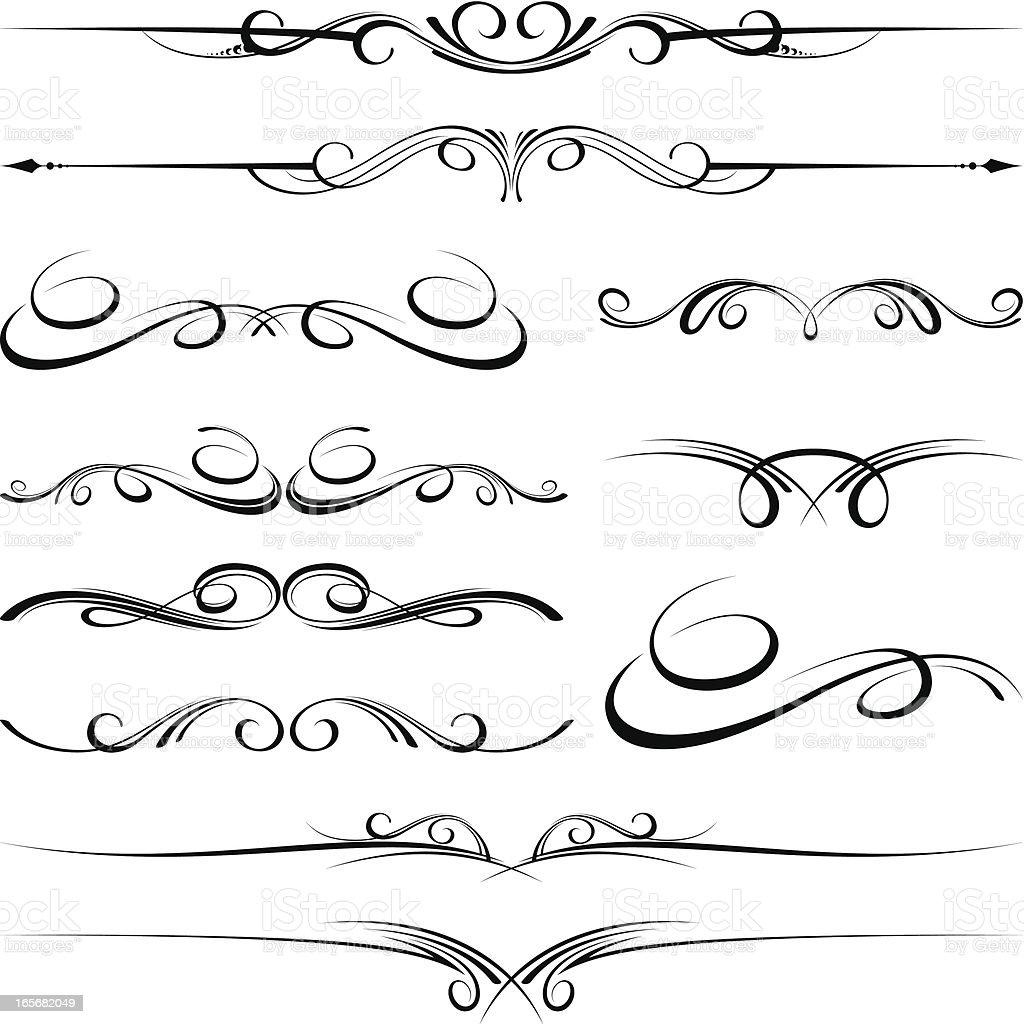 Ornate Designs Stock Vector Art 165682049 Istock
