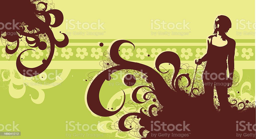 Other side royalty-free stock vector art