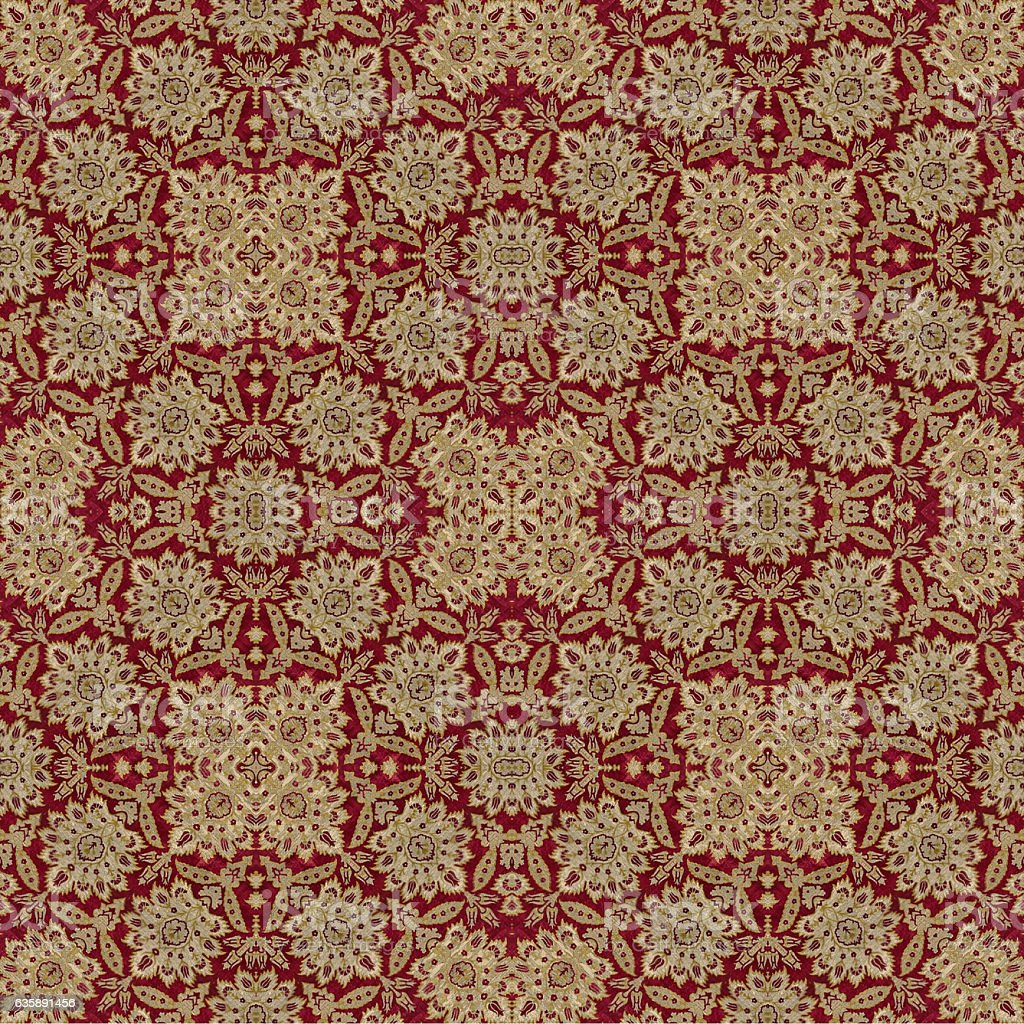 Ottoman cloth vector art illustration