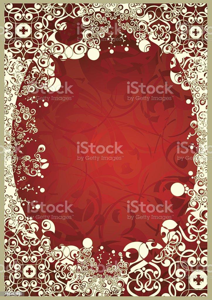 oval frame royalty-free stock vector art