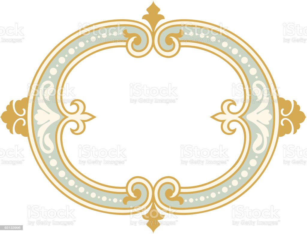 Oval-7104 royalty-free stock vector art