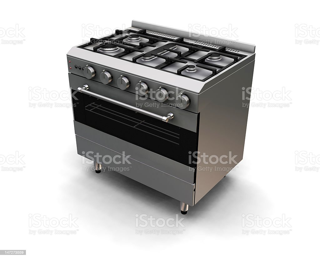 Oven royalty-free stock vector art