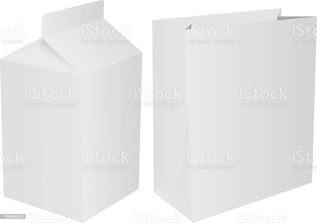 Packets royalty-free stock vector art