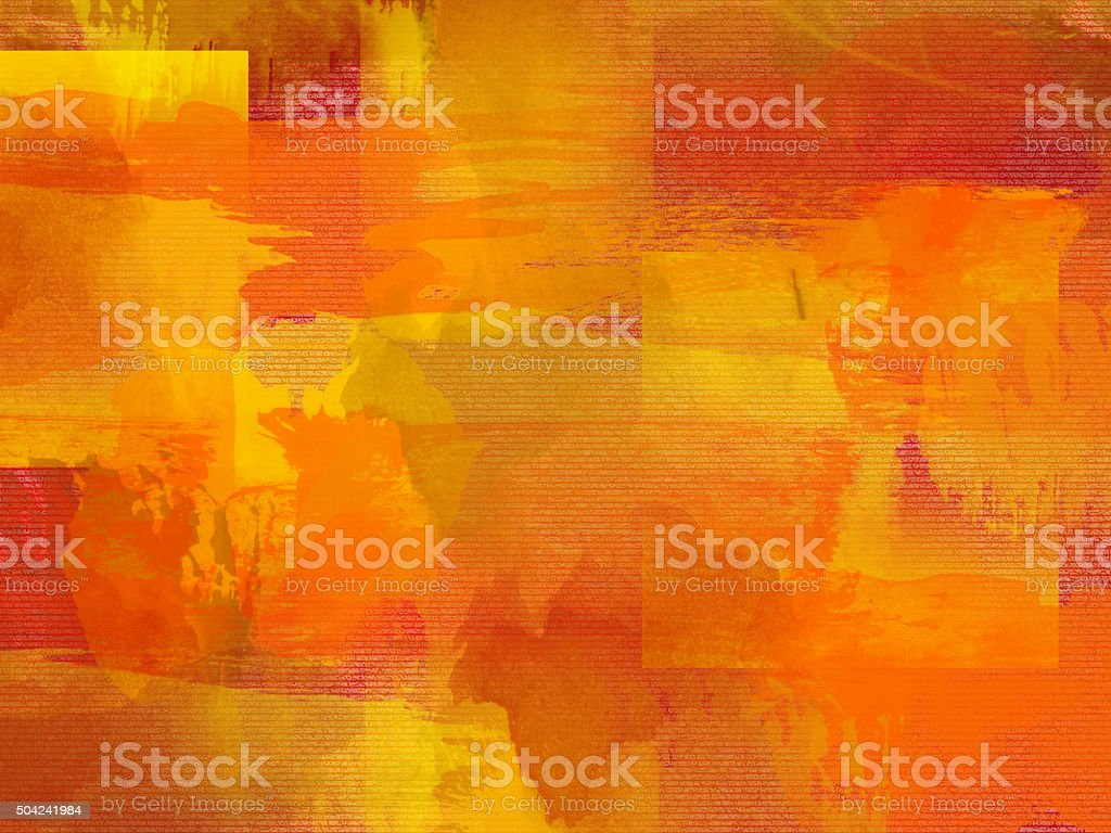 Paint Backdrop vector art illustration