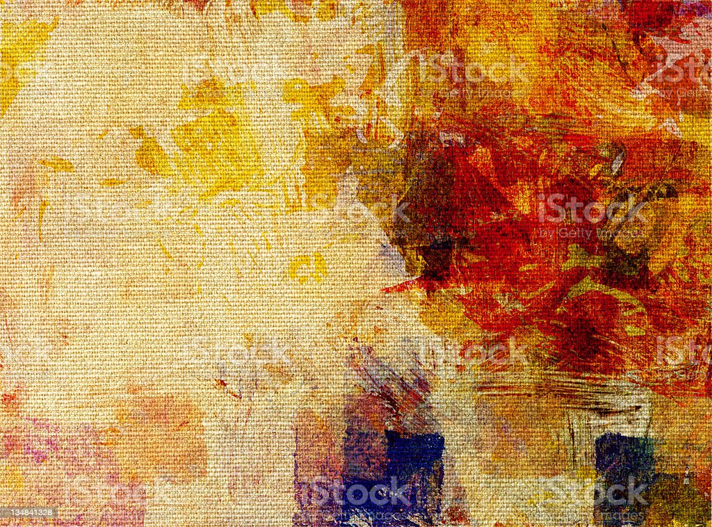 paint glazes on canvas structure royalty-free stock vector art