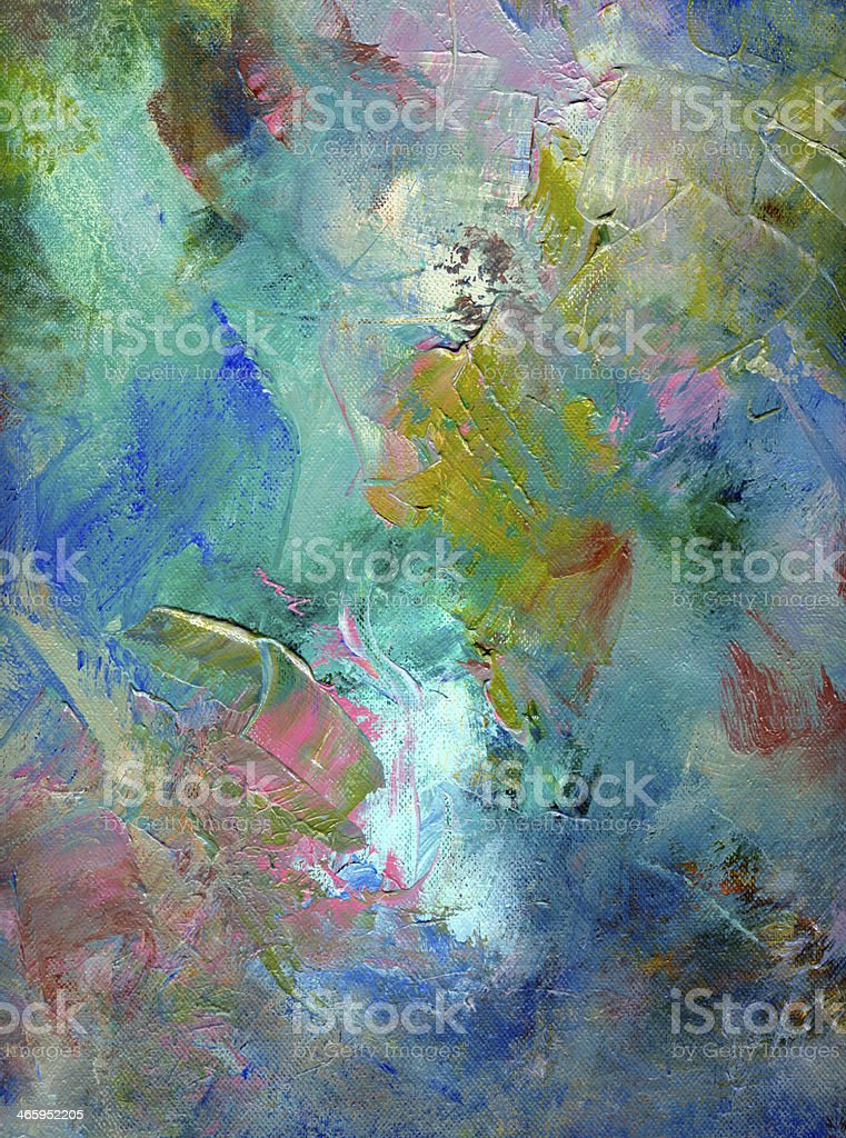 paint textures on canvas royalty-free stock vector art