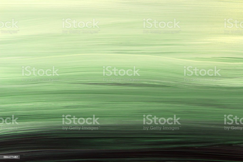 Painted Green Gradient Background vector art illustration