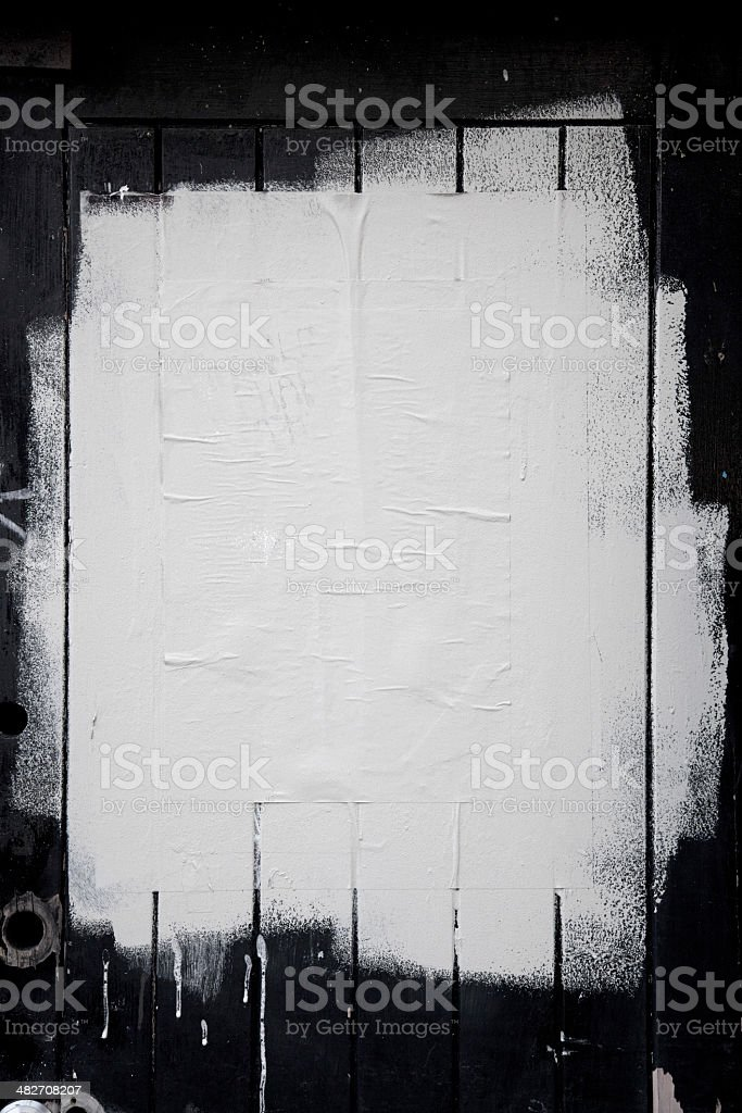 Painted grunge background vector art illustration