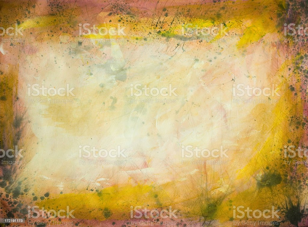 Painted yellow background royalty-free stock vector art