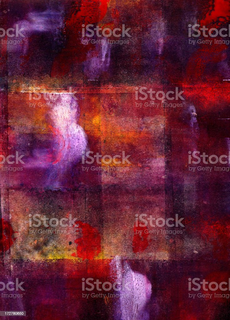 Painting M royalty-free stock vector art