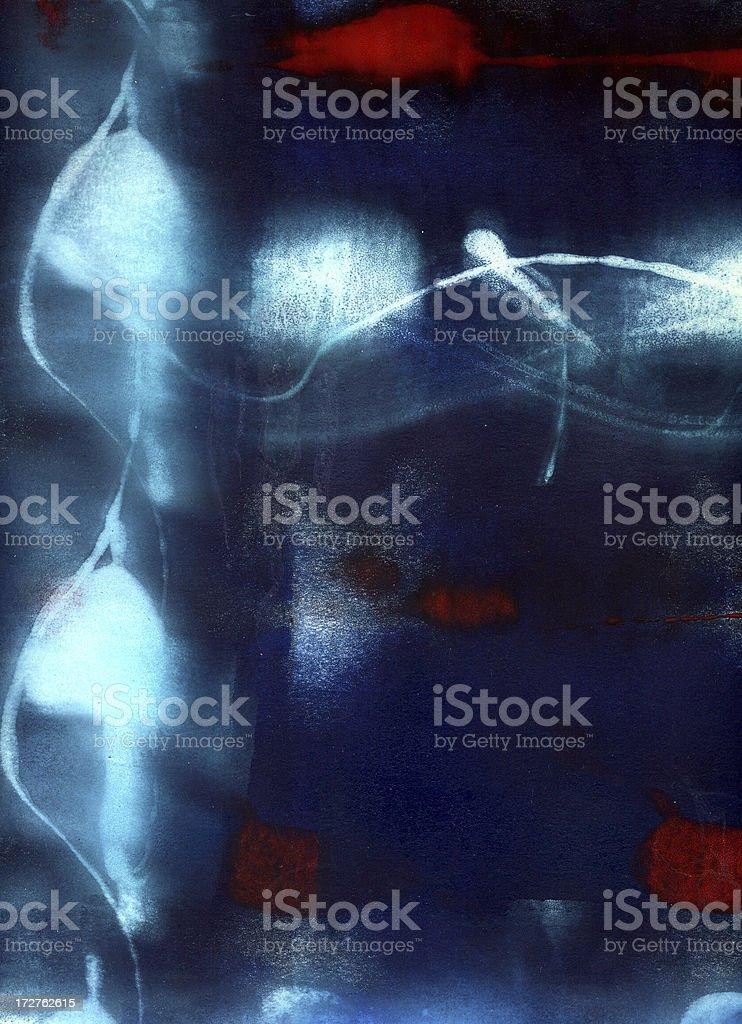 Painting N royalty-free stock vector art