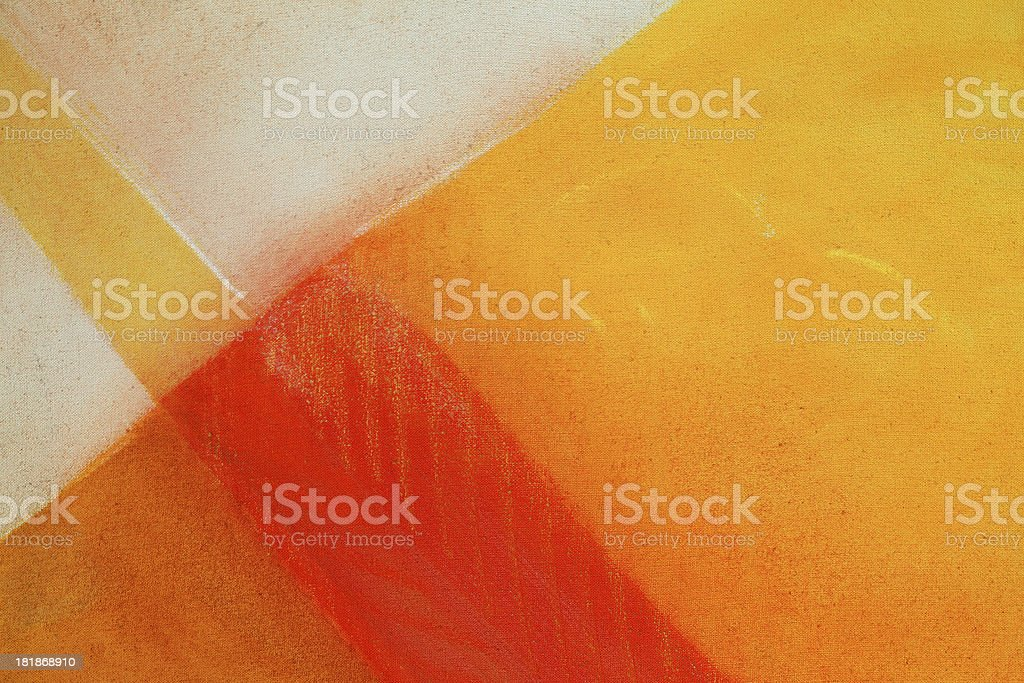 Painting on Canvas vector art illustration