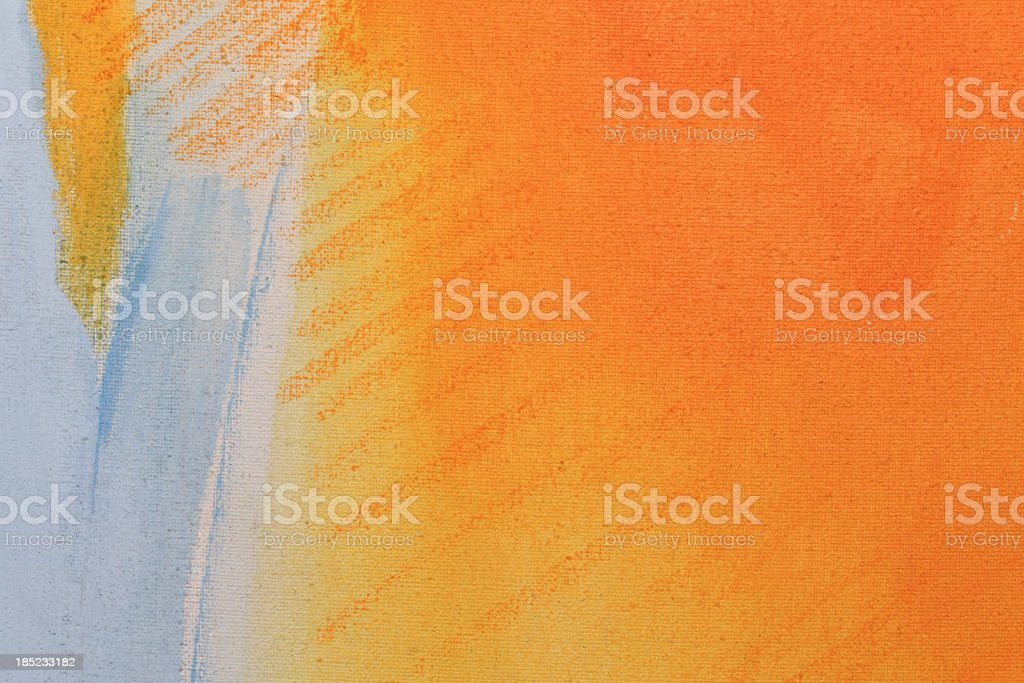 Painting on Canvas royalty-free stock vector art