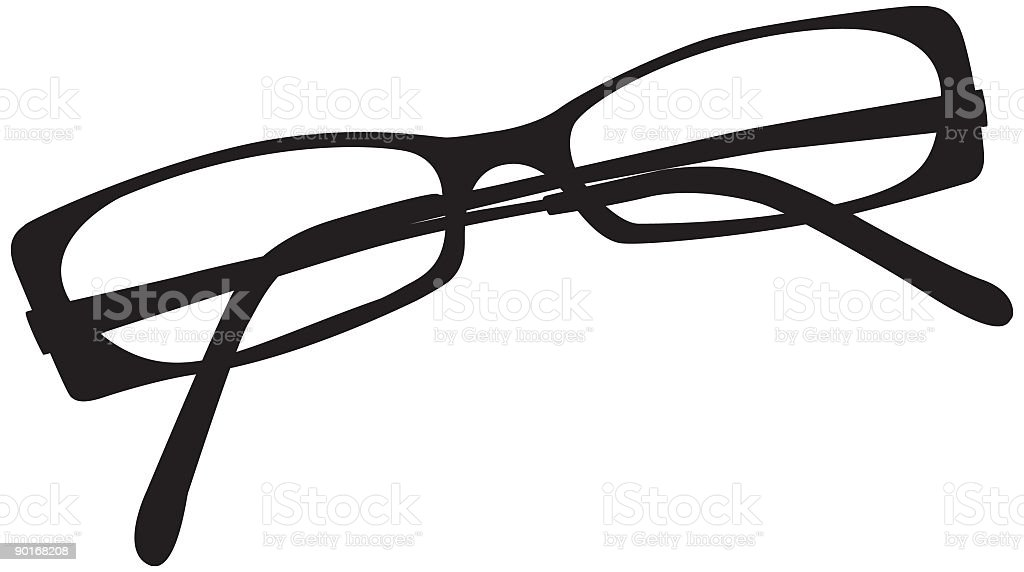 pair of glasses - spectacles royalty-free stock vector art