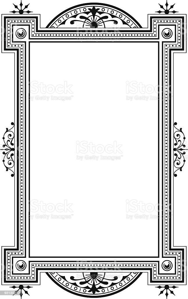 Panel-71404 royalty-free stock vector art